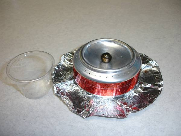 Dr. Pepper Can Stove
