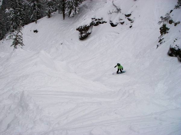 Colorado is getting some good snow...