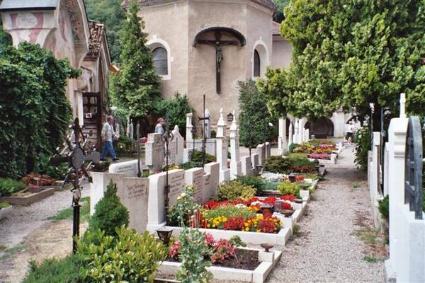 Cemetary in the Tyrol