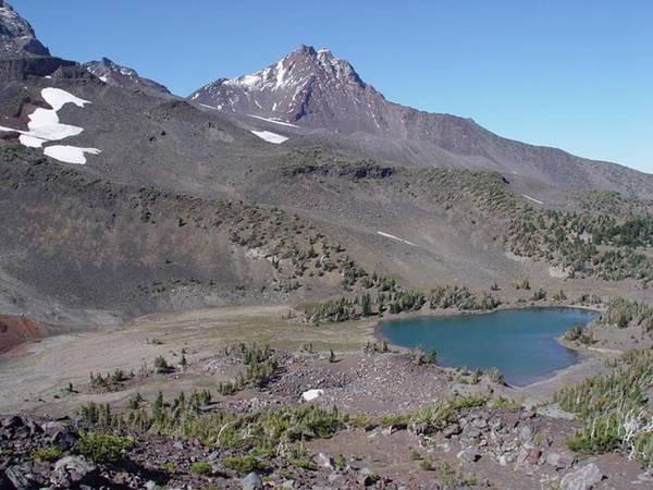 Camp Lake - Sisters Wilderness