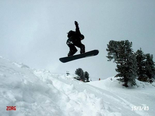 Jump /Zillertal / Austria