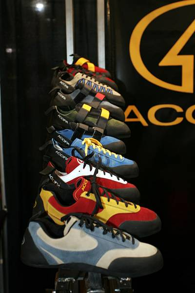 Acopa Climbing Shoes for 2005