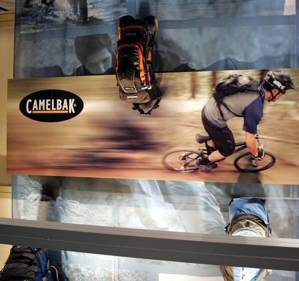 Camelbak booth