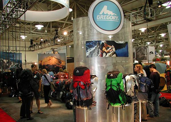 Gregory Outdoor Products booth