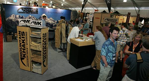 Mountain Khaki booth