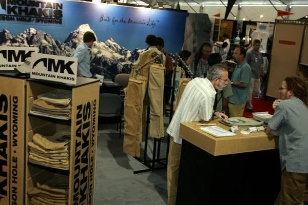 Mountain Khaki booth