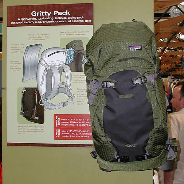 "Patagonia ""Gritty"" pack"