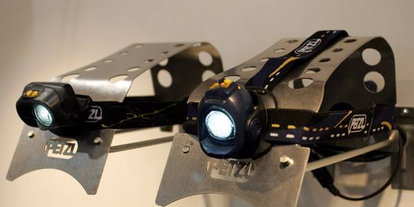 Petzl Myobelt XP headlamps